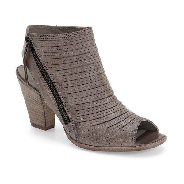 42ea6309a48 Paul Green  Cayanne  Leather Peep Toe Sandal