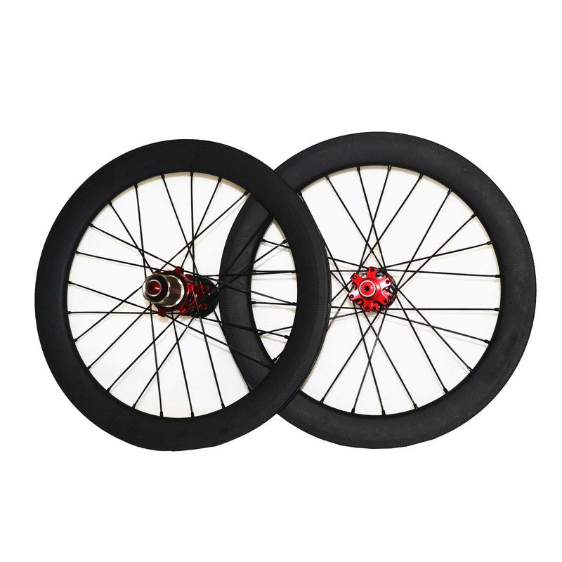 Sema T700 18 Inch 355 Carbon Road Wheels With Sunrise For Birdy
