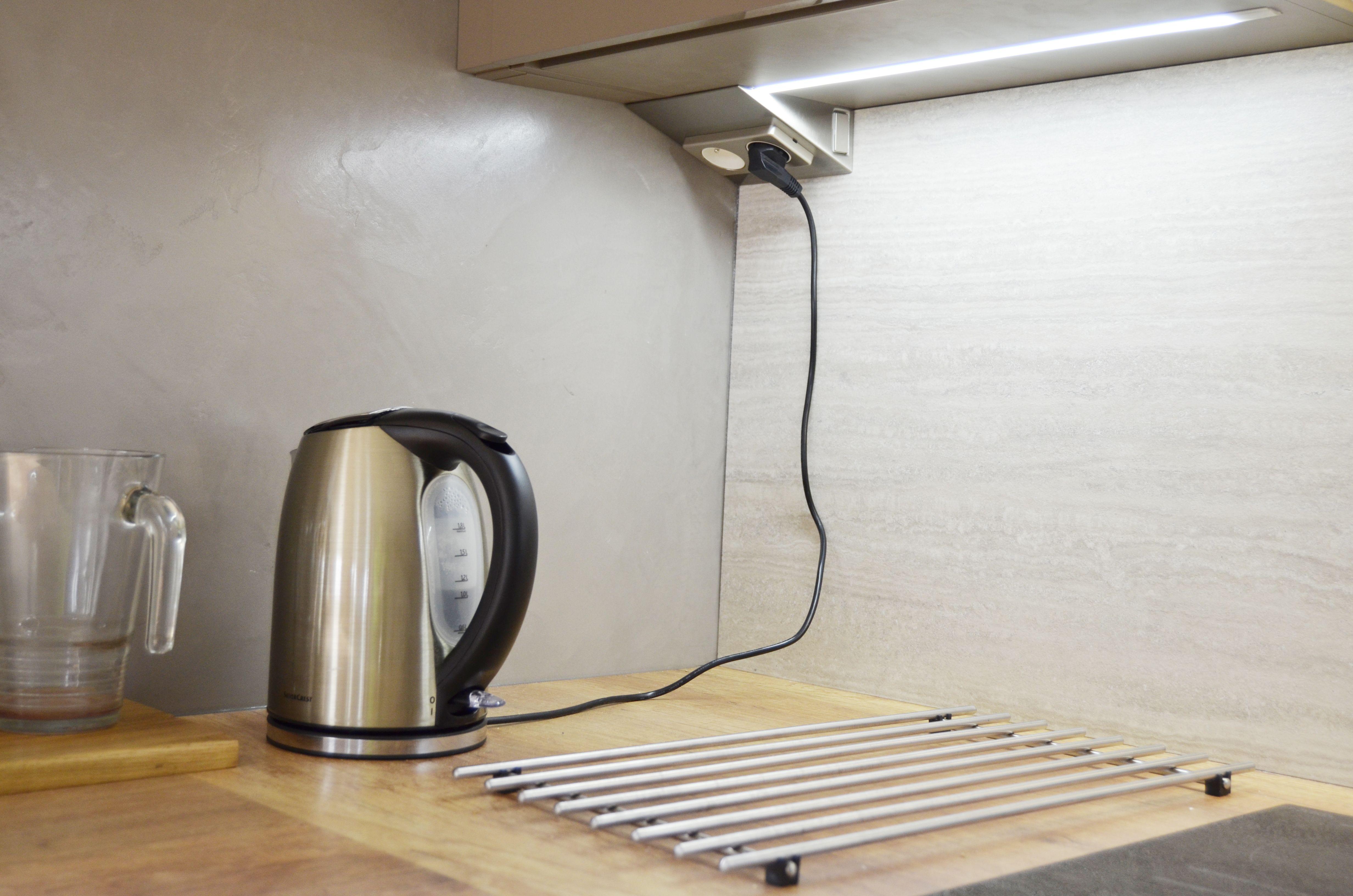 Realizace Kuchynske Linky Elite Detail Zasuvky V Urovni Hornich