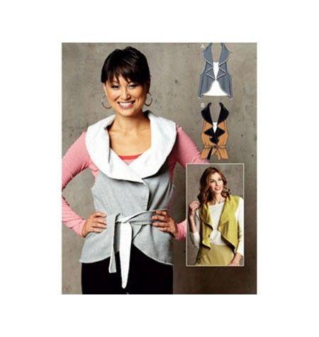 Kwik Sew Pattern Misses Vest /XS-XL £8.99 | Hobbies | Pinterest