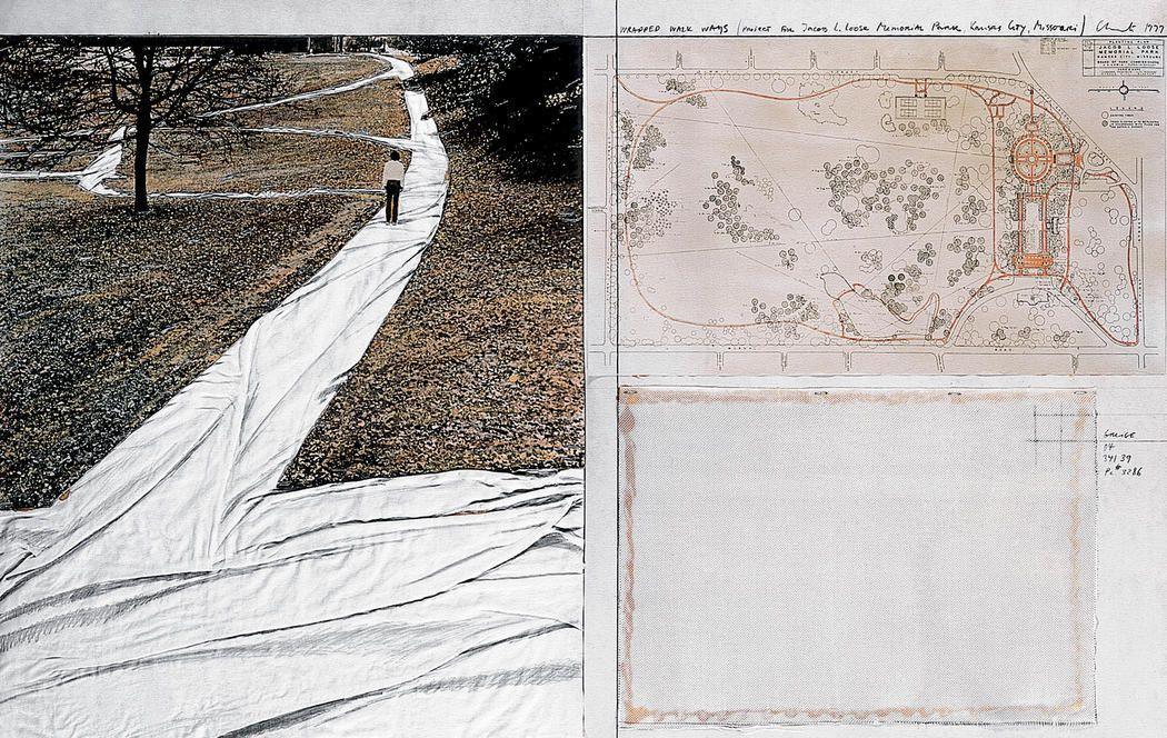 Wrapped Walk Ways (Project for Jacob L. Loose Memorial Park, Kansas City, Missouri)