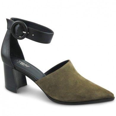 5b173ece50f Danita Pump | Khaki Heels | Wittner Shoes in 2019 | Women Wear ...