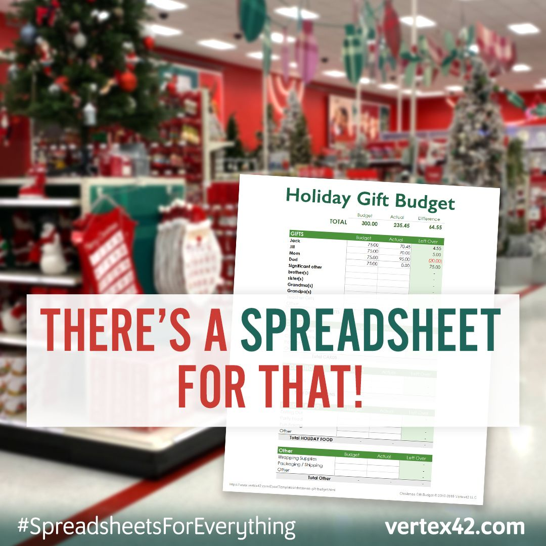 Create A T Budget To Help You Plan This Season