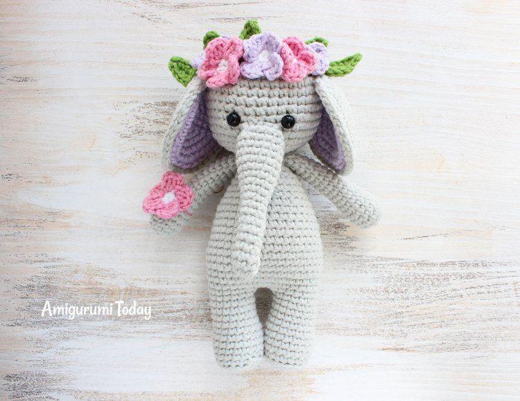 Cuddle Me Elephant crochet pattern | Plushies | Pinterest | Croché ...