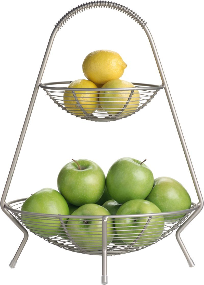 two tier fruit basket in food containers storage crate and two tier fruit basket in food containers storage crate and barrel