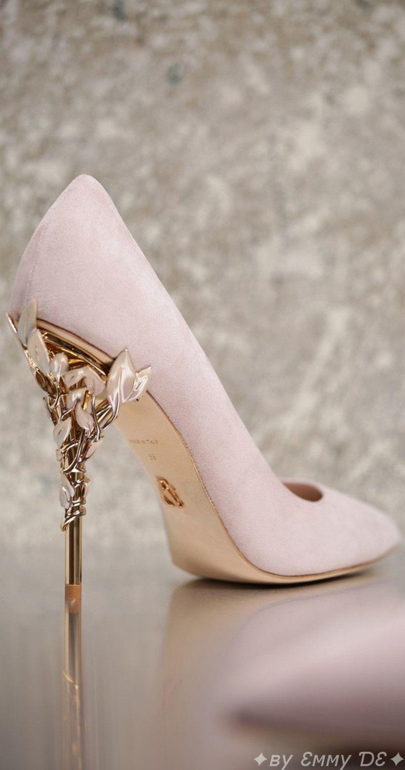 Brilliant Luxury By Emmy De Ralph Russo Eden Heel Aw 2016 17 Zapatos De Novia Zapatos De Quinceanera Zapatos De Boda