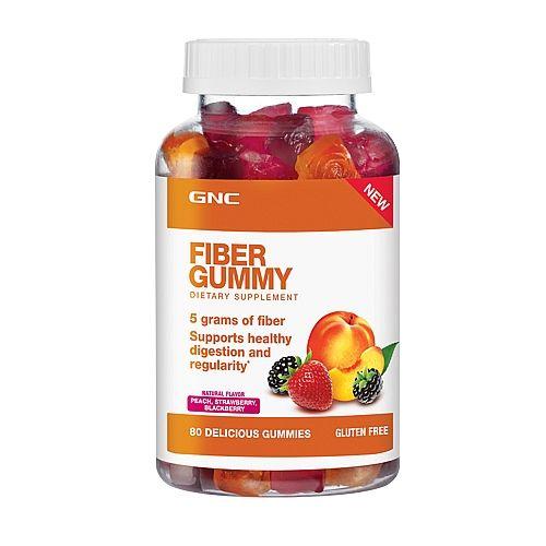 Gnc Fiber Gummy Peach Strawberry Blackberry Nutrition Now