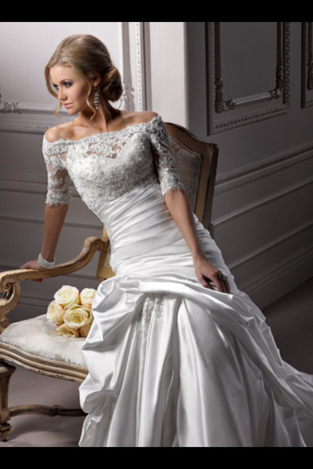 Love. (no link just picture) Maggie Sottero
