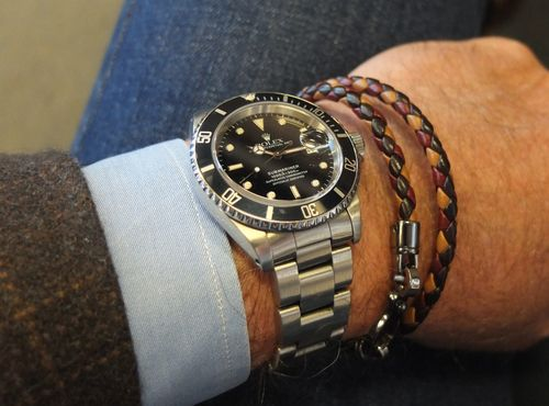 Very Tasteful Combination Of Watch And Bracelet