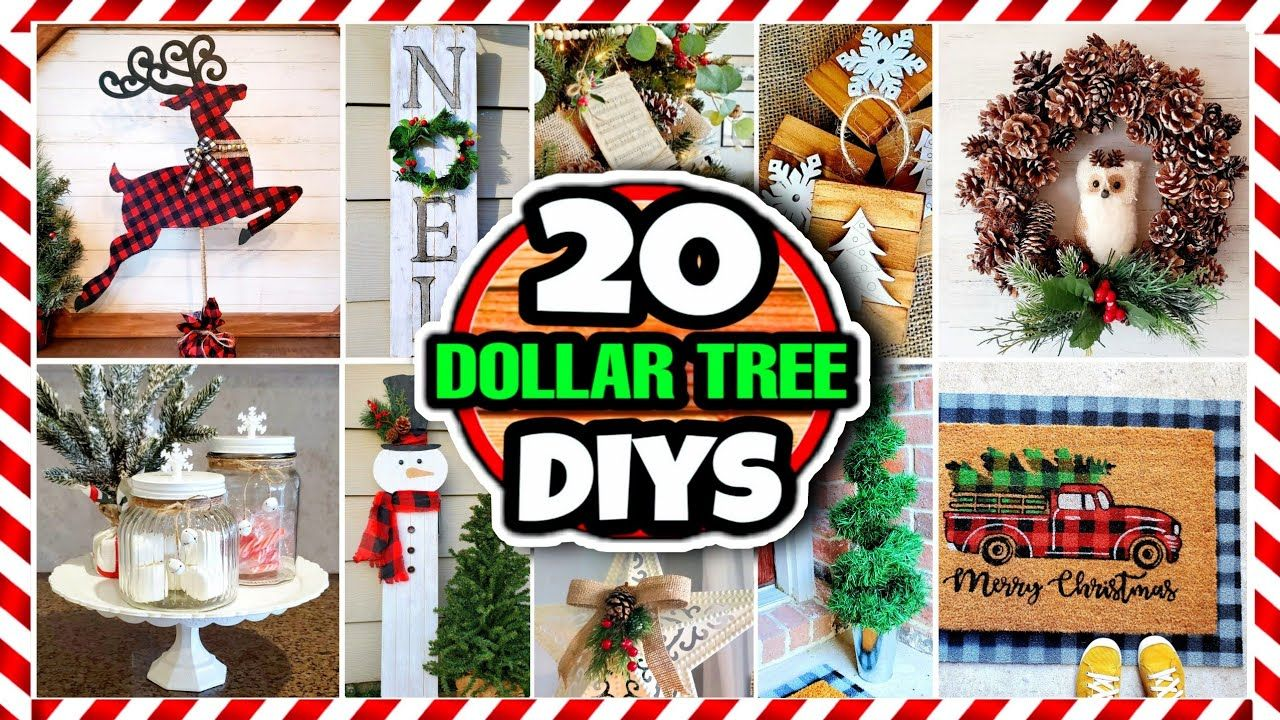 20 Dollar Tree DIY Christmas Decorations & Ideas for 2020  -   19 diy christmas decorations dollar tree 2020 ideas