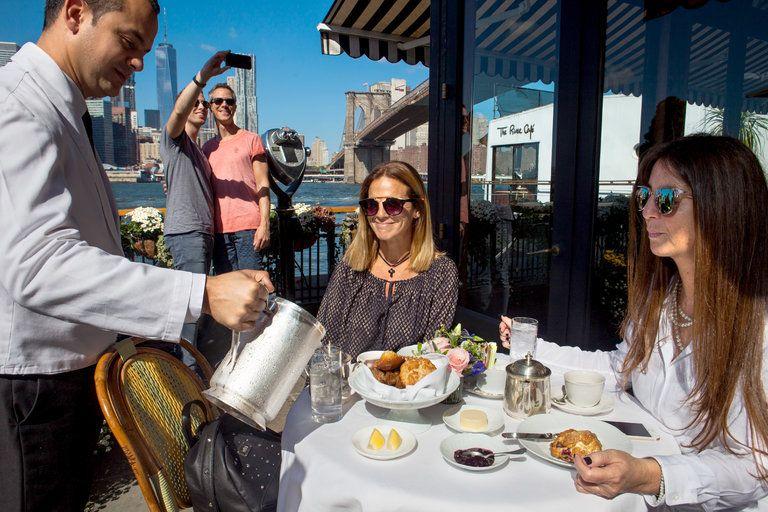 At River Café, Breakfast as a Celebratory Event