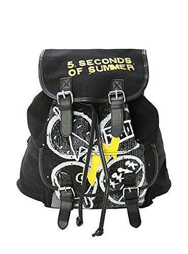 5 Seconds of Summer Four Symbols Slouch Backpack http://www.yearofstyle.com/5-seconds-of-summer-four-symbols-slouch-backpack/