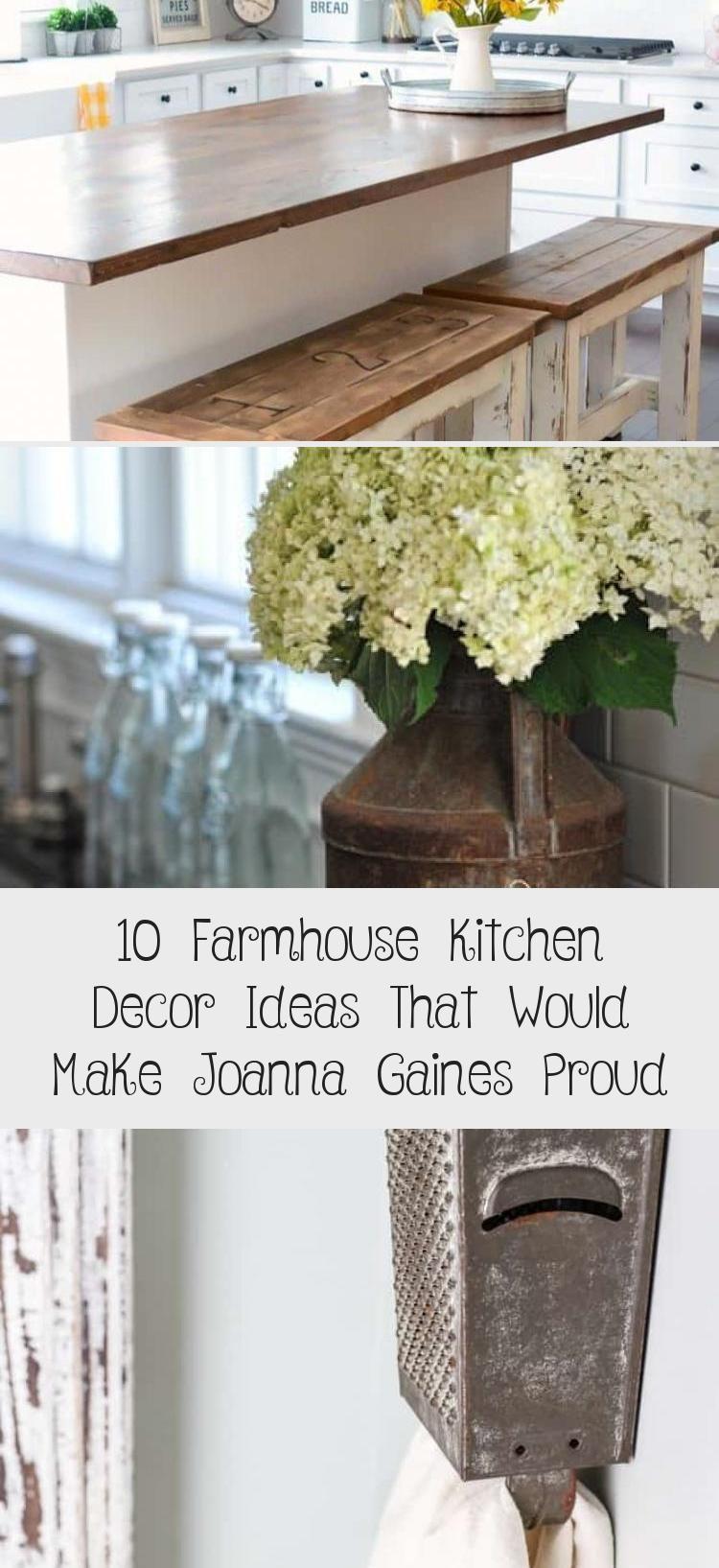 10 ideas for farm kitchen decor that would make Joanna Gaines proud  Kitchen Decorations 10 ideas for farm kitchen decor that would make Joanna Gaines proud  Kitchen Deco...