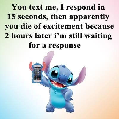 Liek Seriously It S So Annoying Stich Quotes Lilo And Stitch Quotes Funny Quotes