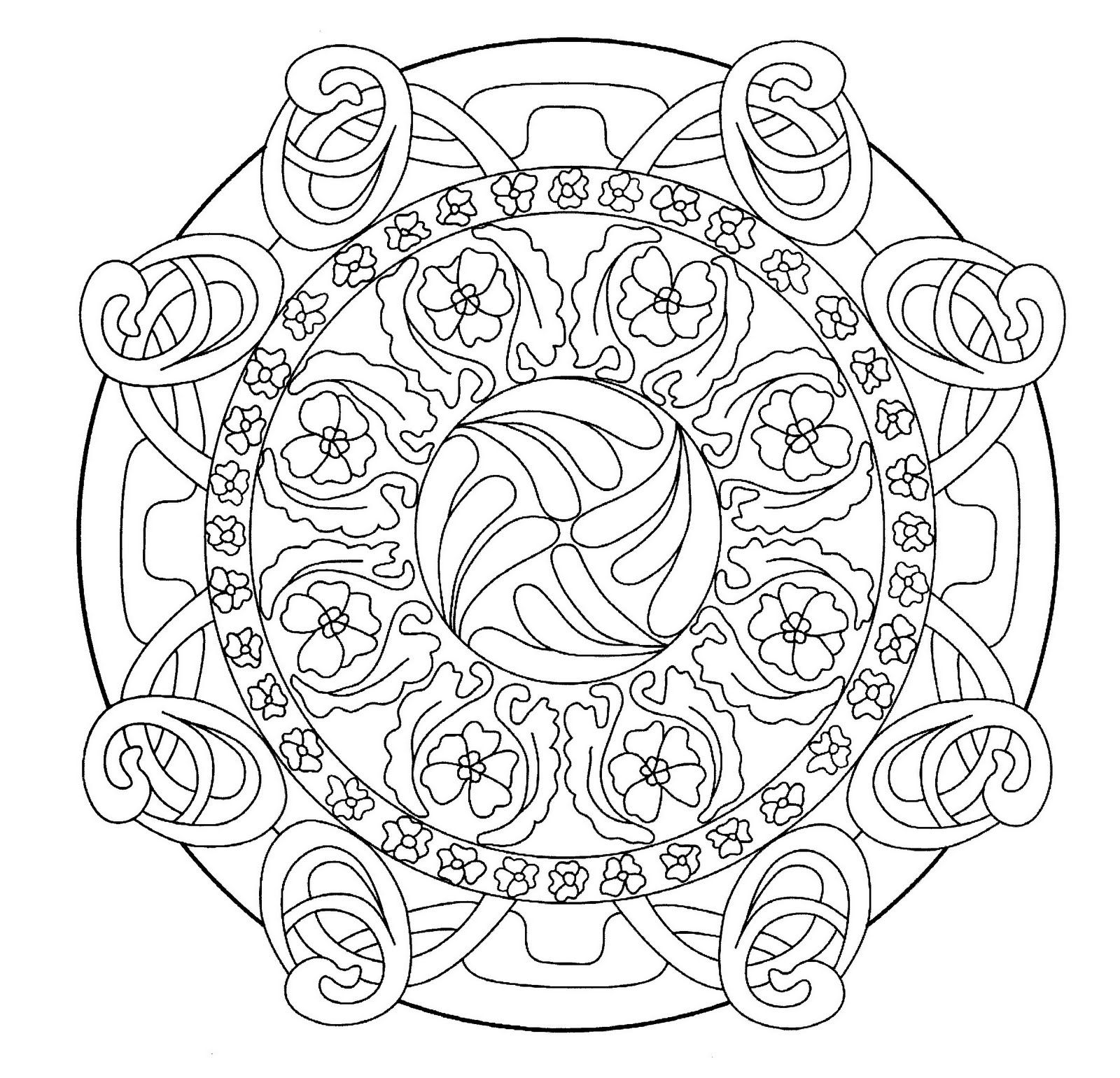 art nouveau coloring pages google search zendala pinterest