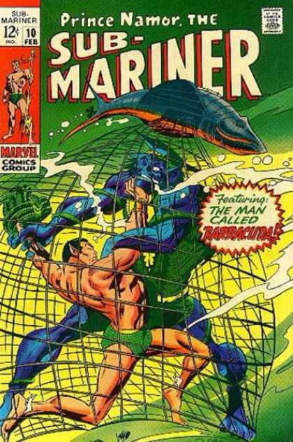 Sub-Mariner (1968) #10
