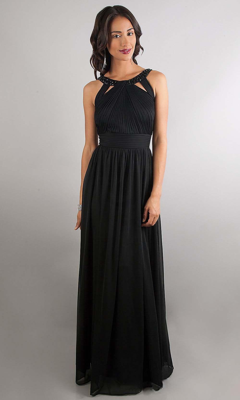 Elegant Prom Dress Black Prom Dresses Chiffon Prom Dress Cheap