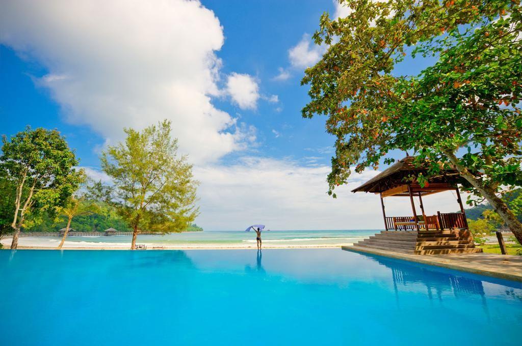 亞庇大红花度假村Bunga Raya Island Resort & Spa Island resort