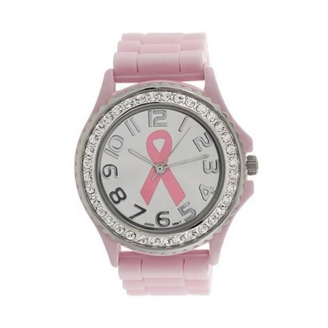 Pink Ribbon Watch – Attending Angels Apparel & Accessories