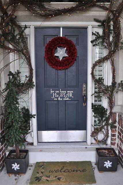 grapevine garland idea not christmas - Grapevine Garland Christmas Decorations