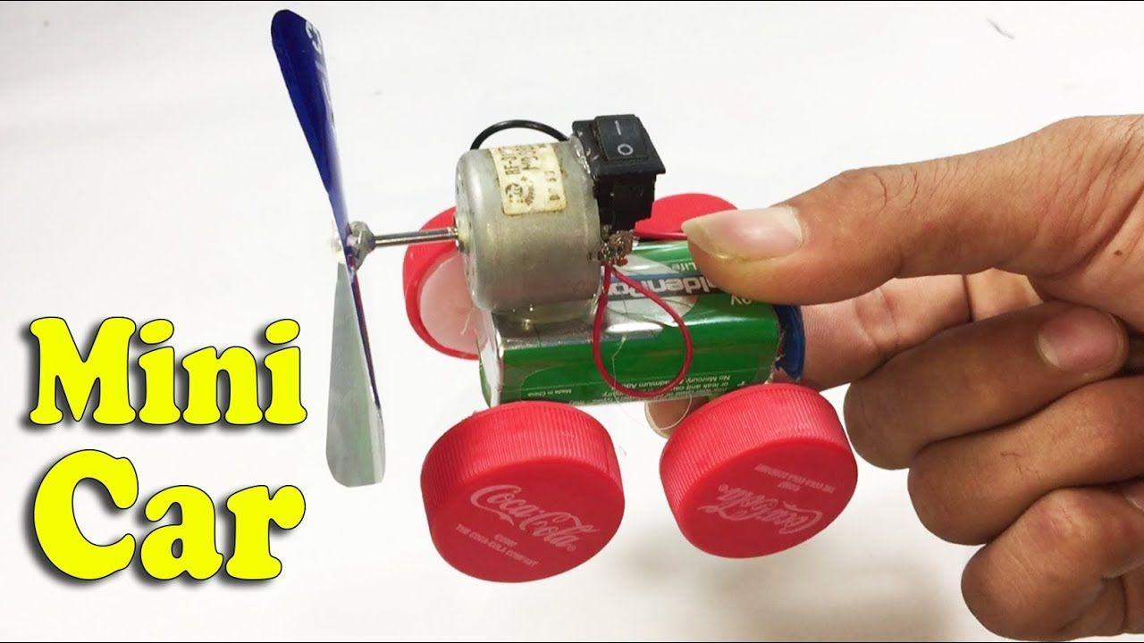 How To Make Car Toy Using Dc Motor Diy At Home Life Hacks Life Hacks Hacks Toy Machine