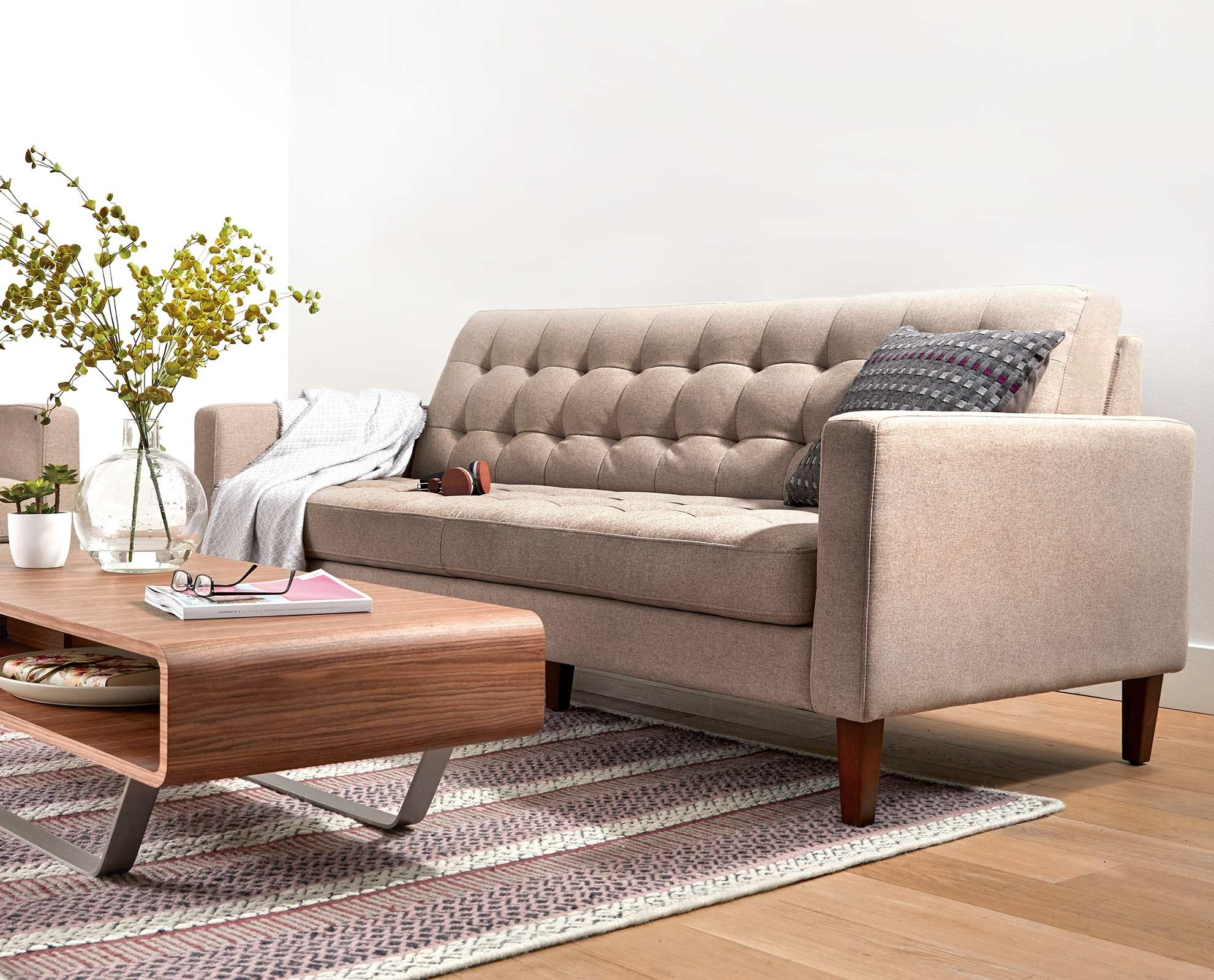 Laura Sofa By Scandinavian Designs Create A New Modern Feel For Your Living Room Wit Modern Couches Living Room Small House Furniture Bedroom Furniture Design #unique #living #room #sets