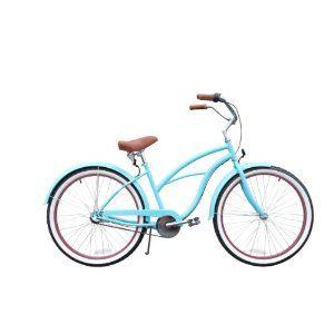 Sixthreezero Teal Women S 26 Multi Speed 3 Speed Beach Cruiser Bike Teal By Sixthreezero 349 Cruiser Bicycle Bicycle Beach Cruiser Bicycle