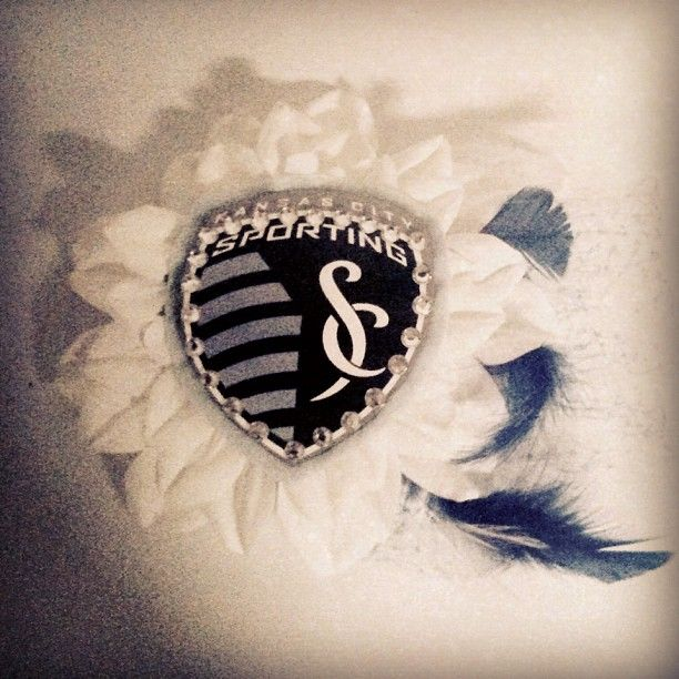 Sporting KC barrette  @Kassandra Kuiper WE NEED!!!!
