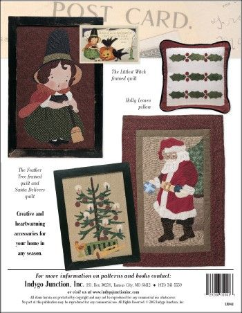 Postcards From The Past – IJ1041 sewing pattern book from IndygoJunction.com