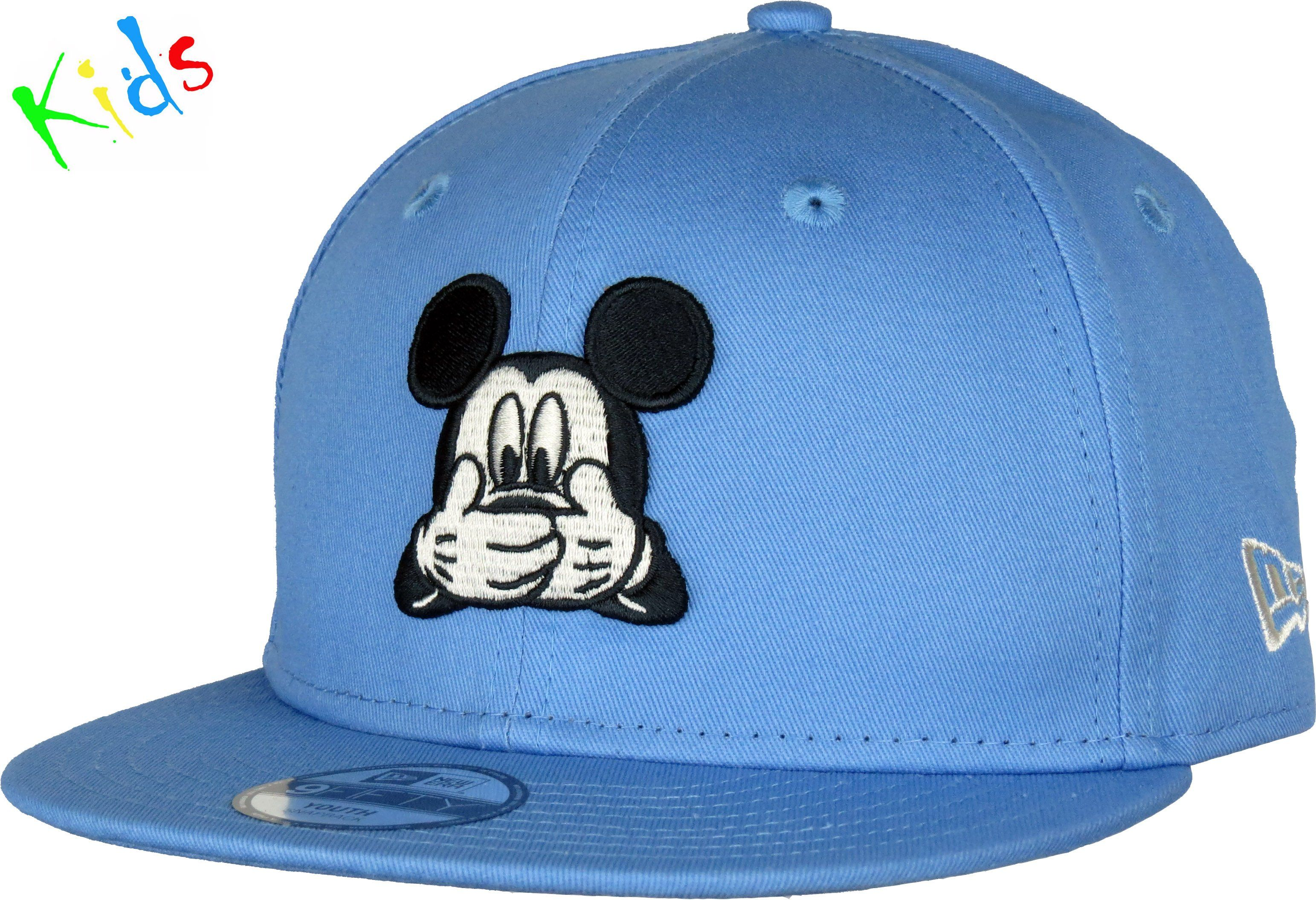 353765d09b0 New Era Kids 950 Disney Express Snapback Cap. Blue with the Mickey Mouse  front logo