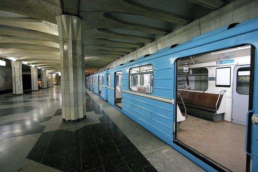 Metro de Tashkent #tashkent #uzbekistan #asia #travel #tourism #takemysecrets