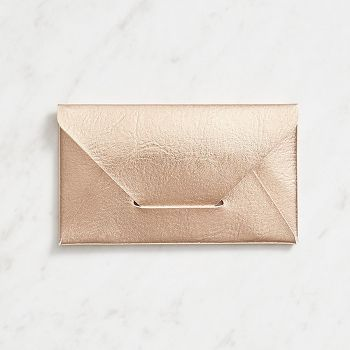 Rose gold business card holder business card holders organizing keep your business cards organized in your purse with this exquisite envelope style business card holder reheart Choice Image