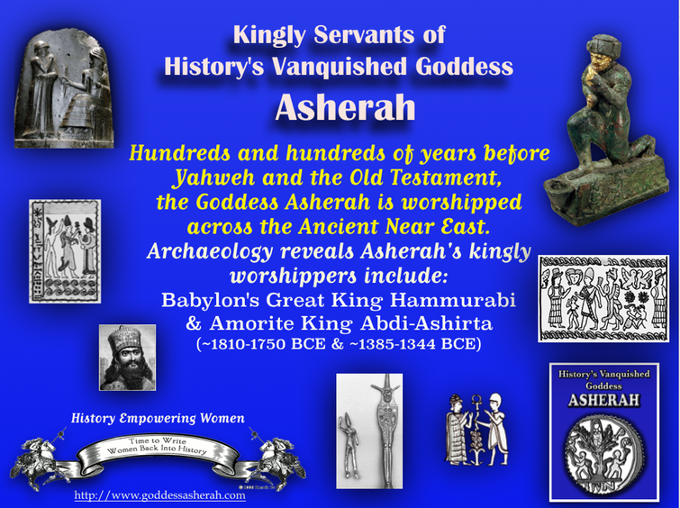Asherah's Kingly Servants~ Hundreds and hundreds of years before