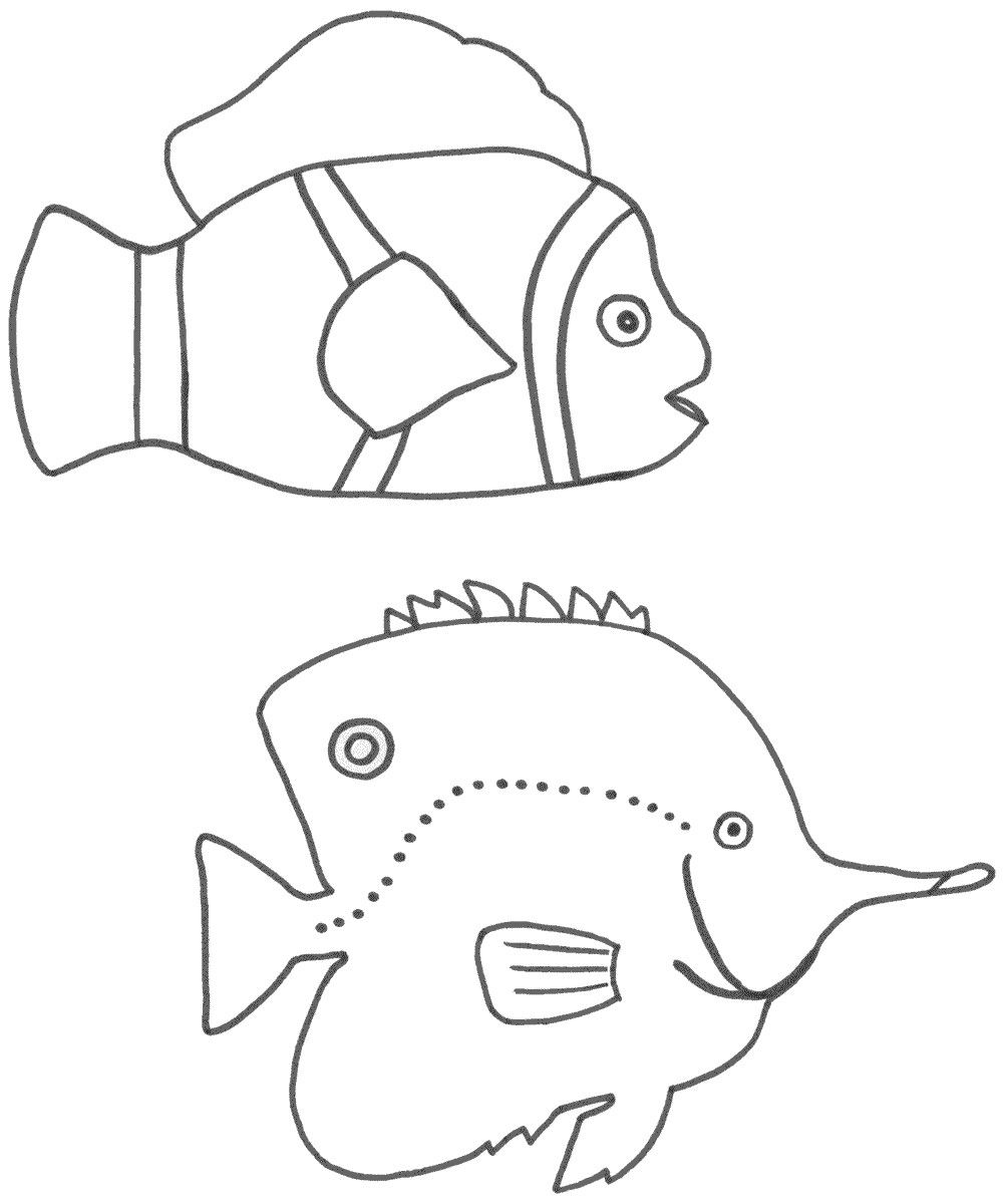 Free Coloring Pages Of 2 Fish And 5 Loaves Of Bread