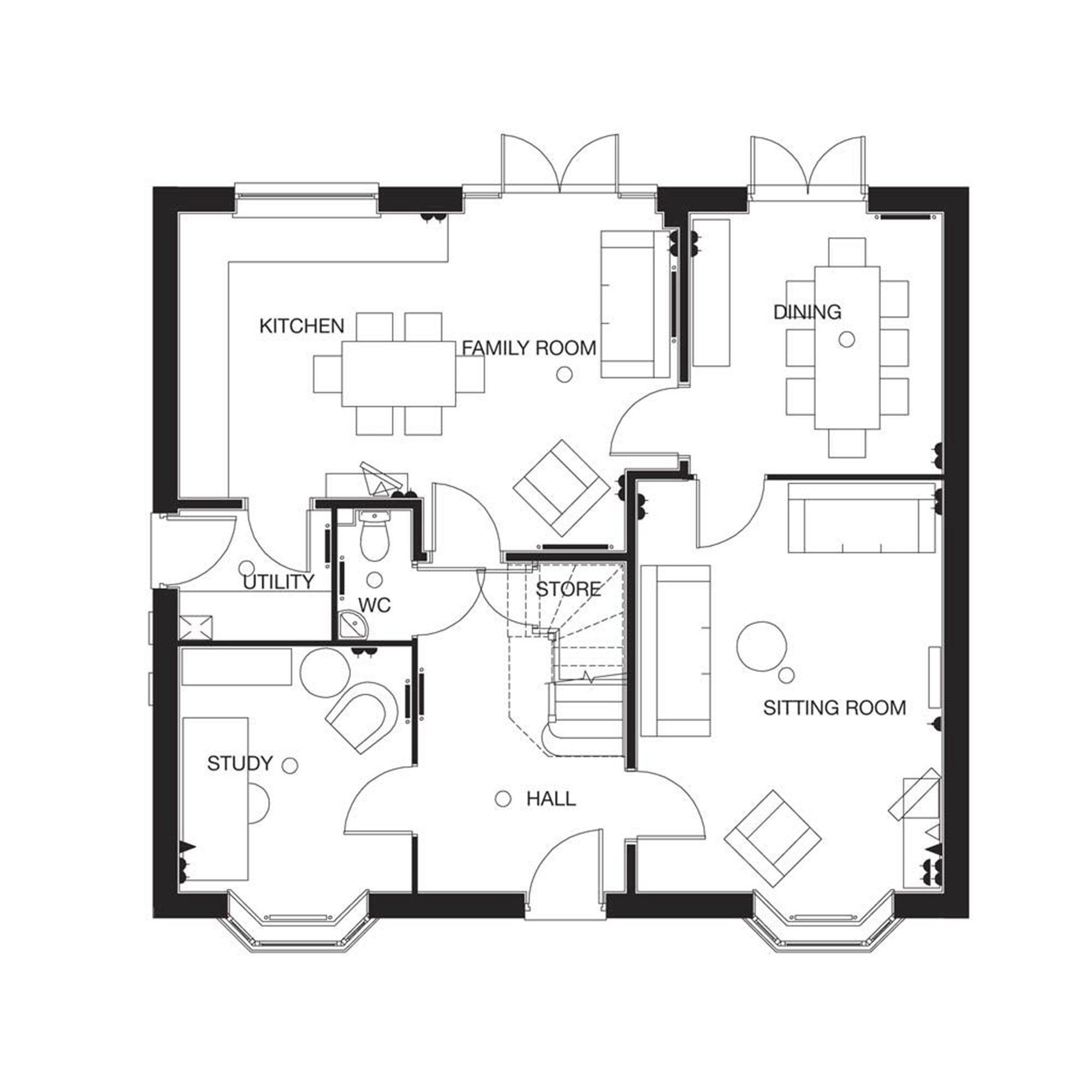 Double Fronted House Designs Ksa G Com