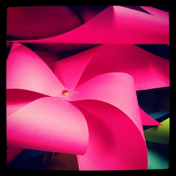 Pinwheels for KU Style Project!