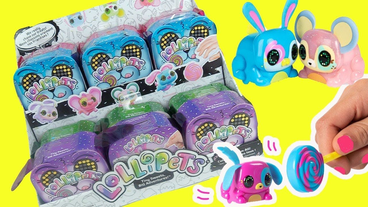 Lollipets Toys By Spin Master Full Box Opening Rare Find Toy Caboodle Spin Master Spinning Toys