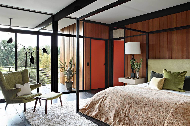 35 Mid Century Modern Primary Bedroom Ideas Photos Mid Century Modern Bedroom Design Mid Century Modern Master Bedroom Mid Century Modern House