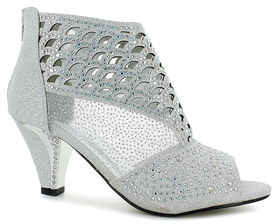 fcb494f5f8b Stunning Dress Shoe by Pierre Dumas® synthetic upper with glitter overlay