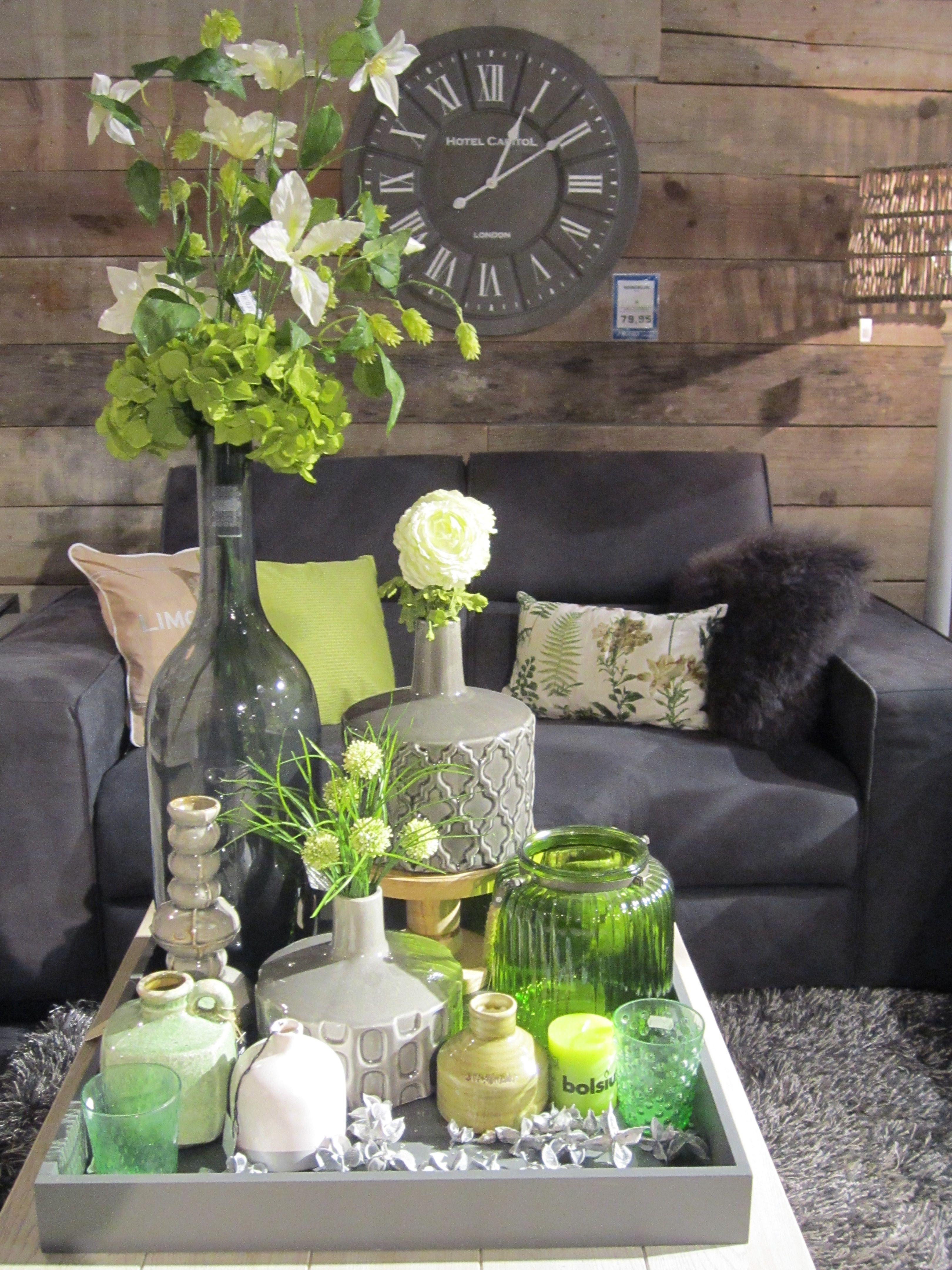 Klok bloemen vaas inspiratie decoratie living home pronto wonen kaarsenhouder - Decoratie new england ...