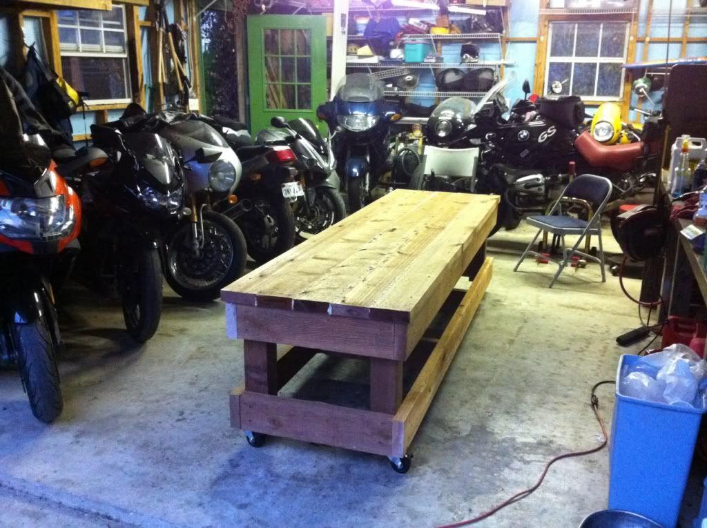 Super How To Build A Motorcycle Workbench I Bmw Com Diy Frankydiablos Diy Chair Ideas Frankydiabloscom