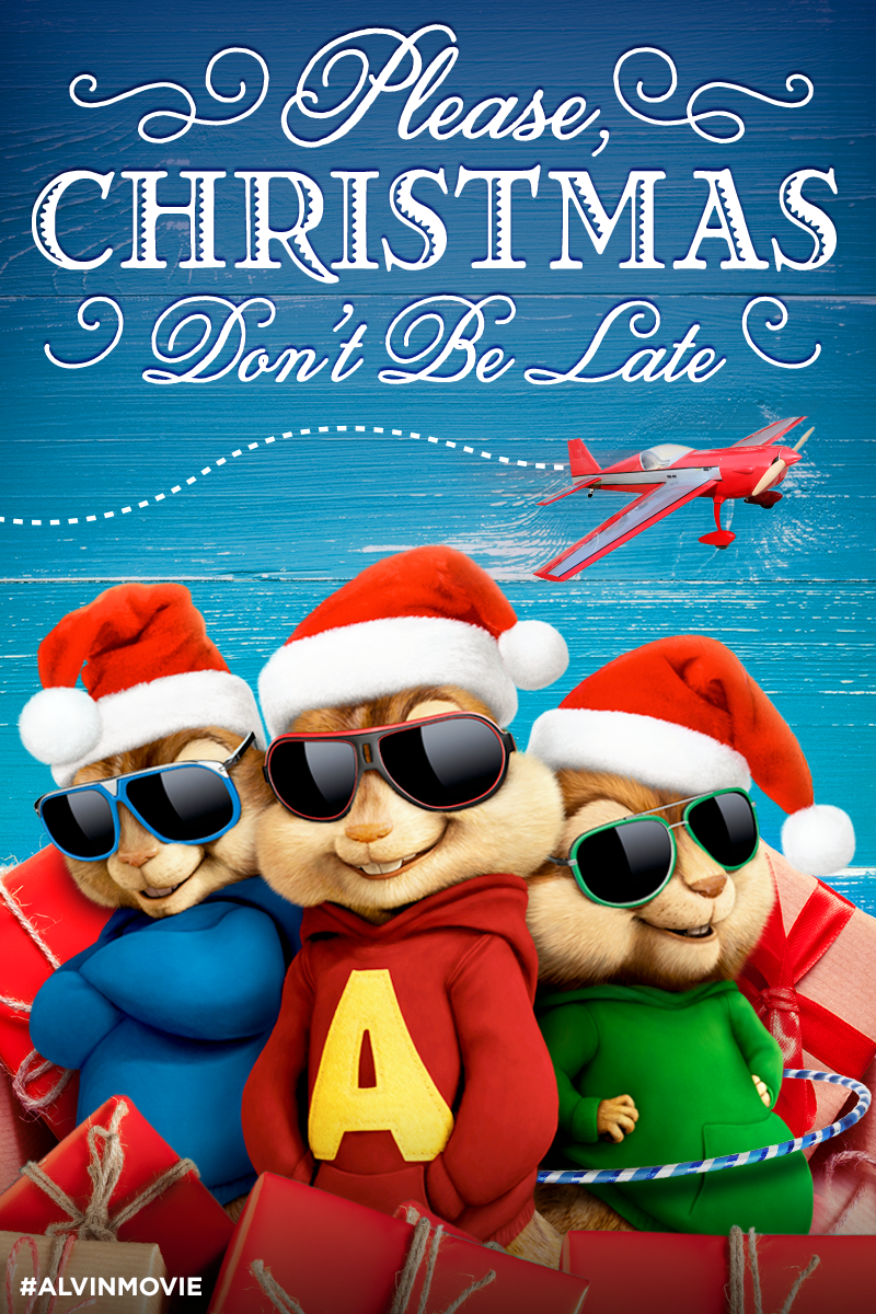 The Chipmunks Are Looking Forward To The Holiday Season | Alvin and the Chipmunks: The Road Chip ...