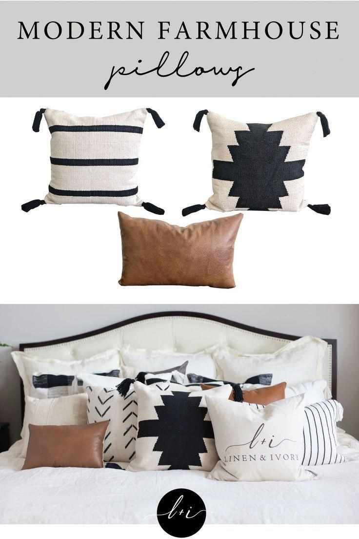 Farmhouse Pillows Let's Stay Home Farmhouse Pillow Cover