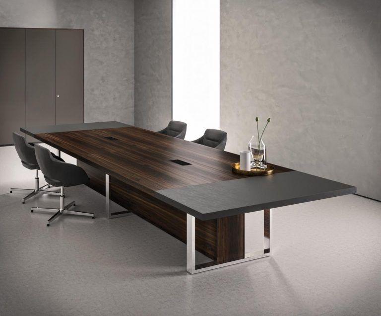 Table De Reunion Tres Haut De Gamme Pour Espaces De Travail De Luxe Design De Table Table De Reunion Mobilier De Salon