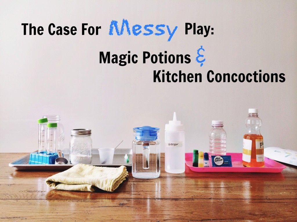 Magic Potions And Kitchen Concoctions Via The Risky Kids