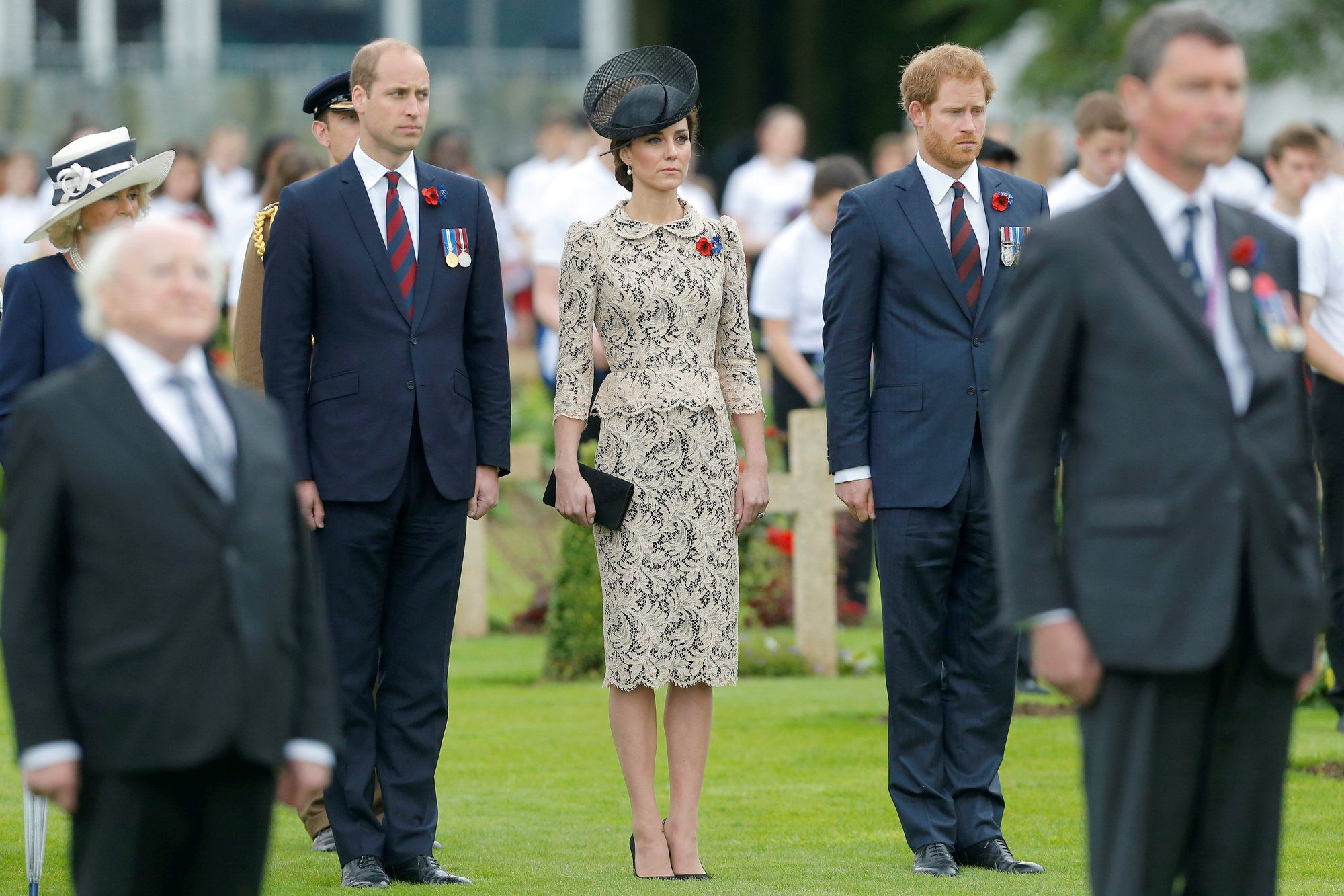 http://www.revelist.com/style-news/kate-middleton-july-2016/3878/We begin with a solemn occasion: a service in France marking the 100th anniversary of the Battle of the Somme./1/#/1