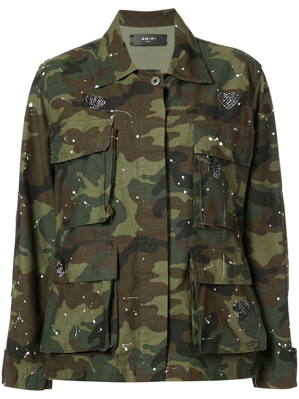 Amiri Military Jacket in 2019   Military jacket, Jackets