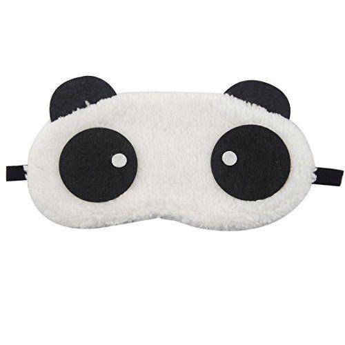 Hosaire Masques de sommeil Masque des Yeux relaxation Motif de panda peluche mignon de opaque masque Cache yeux pour dormir pour voyage ou lors des siestes lapr/ès-midi pour enfants