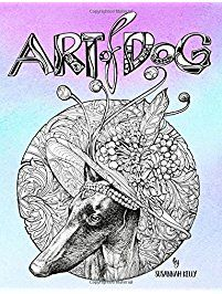 Art Of Dog A Lover Coloring Book For Adults Featuring Dogs Puppies With
