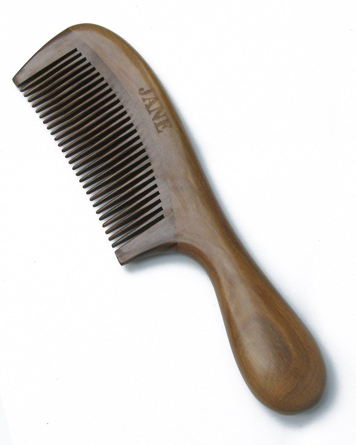 Karsd Hair Combs Natural Green Sandal Wood Comb Handle Comb Fine Tooth 3 This Is An Amazon Affiliate Link See This Great P Hair Tools Wood Comb Hair Comb